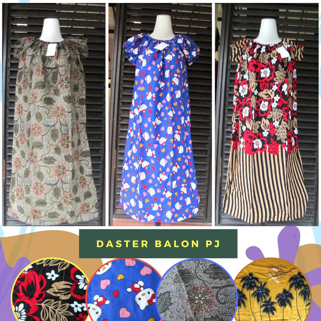 Grosir Daster Katun Bandung Grosir Daster Balon Panjang Dewasa Murah Bandung Rp.26.500