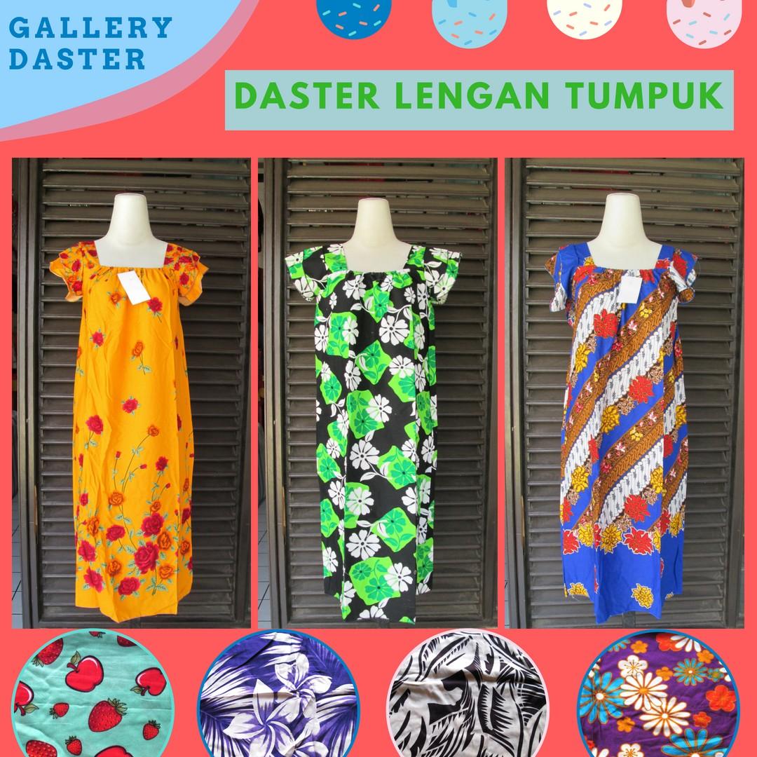 Grosir Daster Katun Bandung Distributor Daster Lengan Tumpuk Dewasa Murah di Bandung Rp.23.500