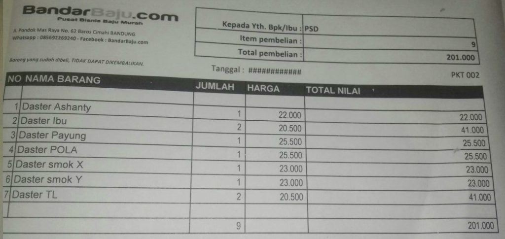 Grosir Daster Katun Bandung Grosir Daster Murah 20rb