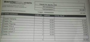 Grosir Daster Batik Katun Murah Bandung NOTA Paket Retail Daster