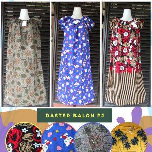 Grosir Daster Katun Bandung Produsen Daster Balon Panjang Dewasa Murah Bandung