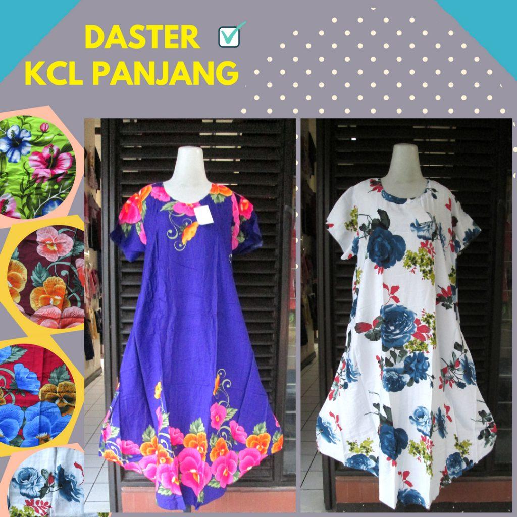 Grosir Daster Katun Bandung Produsen Daster KCL Panjang Dewasa Murah Bandung 33Ribu