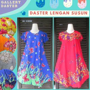 Grosir Daster Batik Katun Murah Bandung Distributor Daster Lengan Susun Dewasa Murah di Bandung