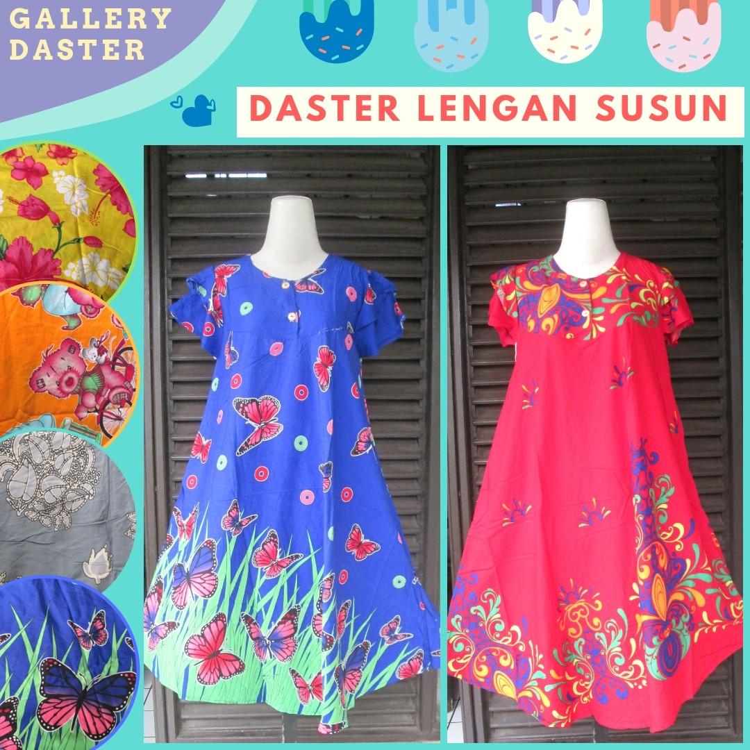 Grosir Daster Katun Bandung Distributor Daster Lengan Susun Dewasa Termurah di Bandung 30Ribuan