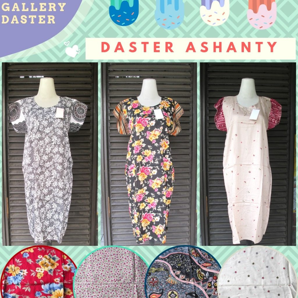 Grosir Daster Katun Bandung Sentra Grosir Daster Ashanty Wanita Dewasa Murah di Bandung Rp.23.500