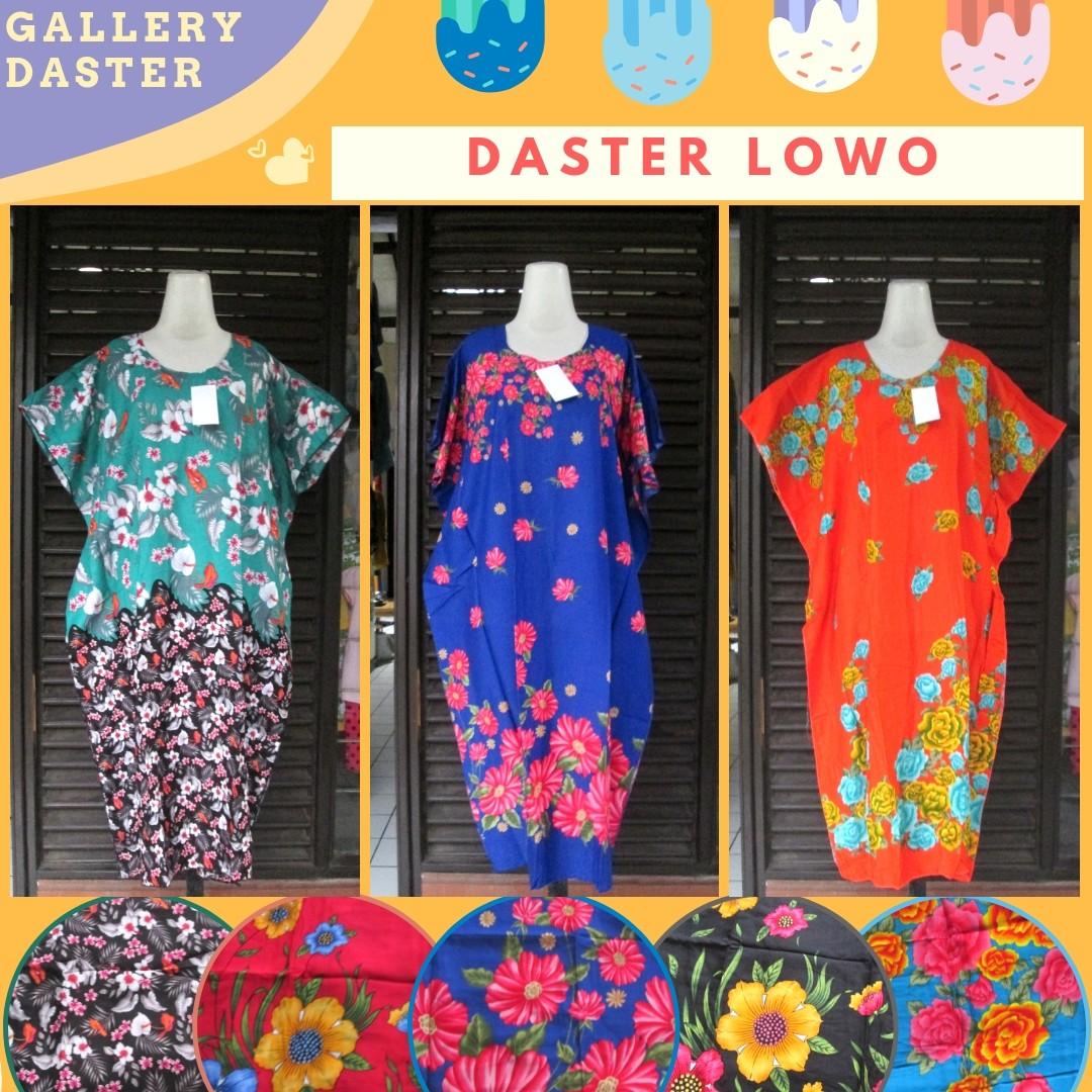 Grosir Daster Katun Bandung Produsen Daster Lowo Wanita Dewasa Termurah di Kota Bandung Rp.32.500