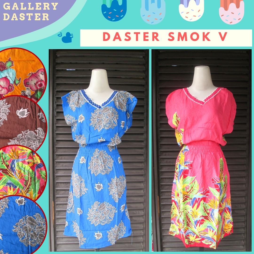 Grosir Daster Katun Bandung Distributor Daster Smok V Dewasa Termurah di Kota Bandung Hanya Rp.25.500