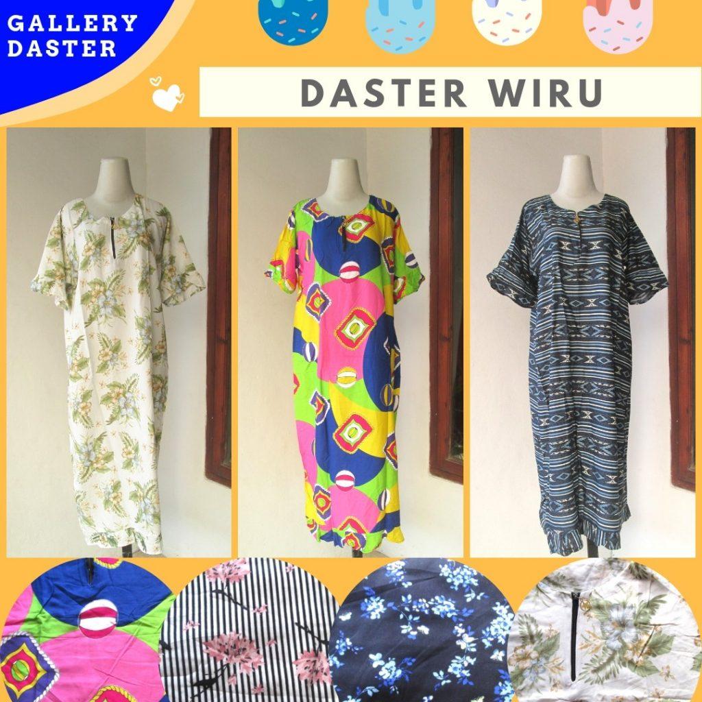 Grosir Daster Katun Bandung Produsen Daster Wiru Dewasa Motif Terbaru Murah di Bandung 31Ribuan