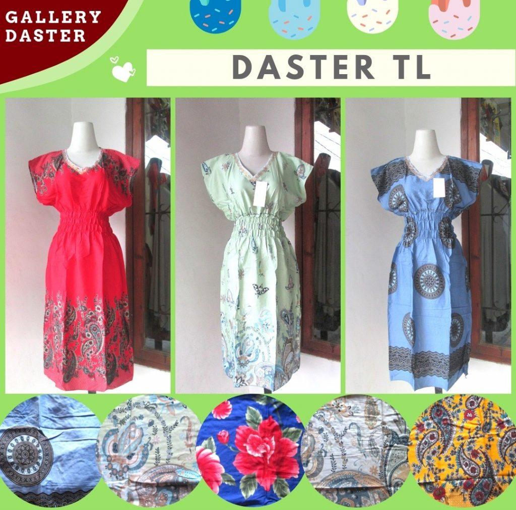 Grosir Daster Batik Katun Murah Bandung Konveksi Daster TL Wanita Dewasa Murah di Bandung Hanya Rp.23.500